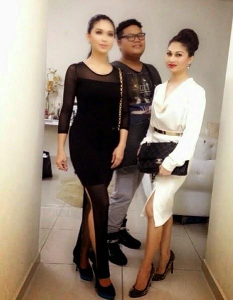 Fesyen Pelik Gaun Ketat Yang Dipakai Oleh Anzalna Nasir
