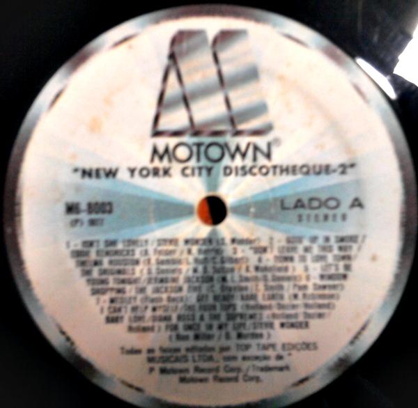 Vinyl House Lp New York City Discotheque 2 1977