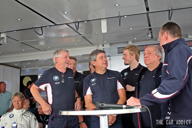 Brabham BMW T52 turbo Team Oldtimer Grand Prix 2013