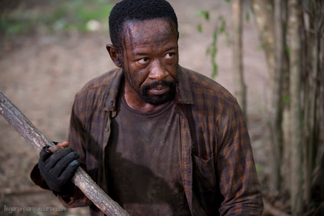 Lennie James como Morgan Jones - The Walking Dead _ Season 6, Episode 4