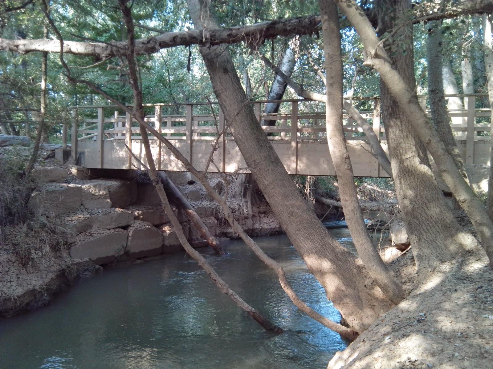 Puente en el Soto de la Alameda