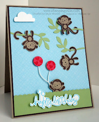 Stampin' Up! Fox & Friends Birthday Card