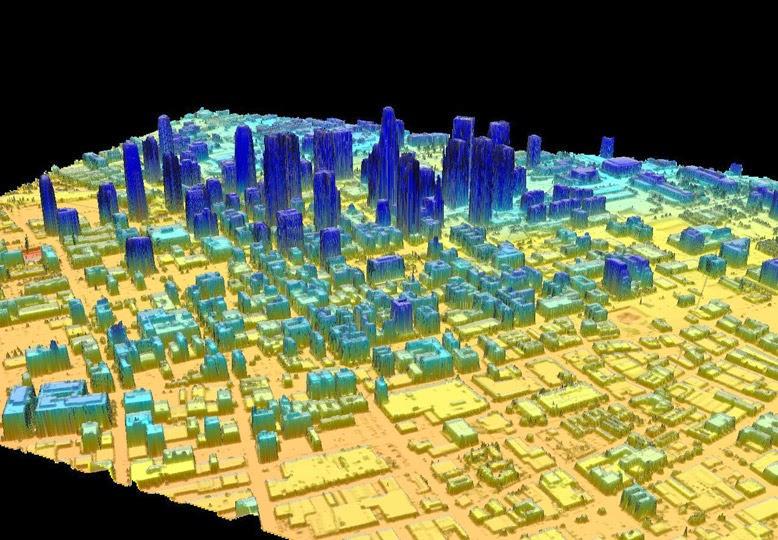 LiDAR Urban Modeling