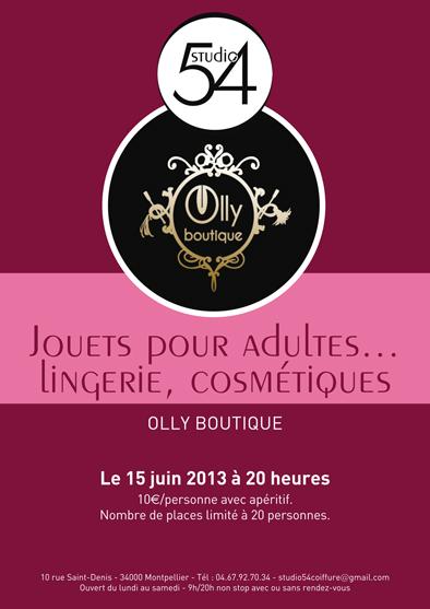 Affiche de présentation de la soirée à thème du samedi 15 juin 2013.