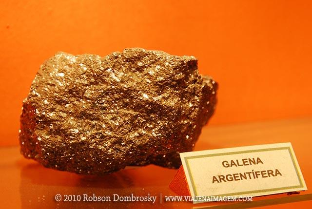 minerio de prata galena argentifera