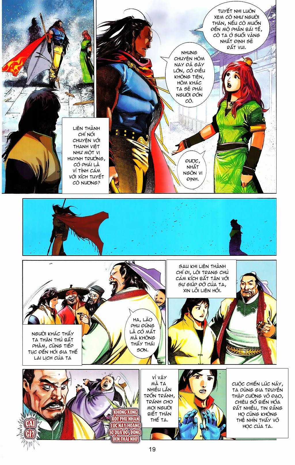 Phong Vân chap 664 Trang 19 - Mangak.info