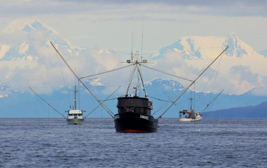 Trolling Verfahren Alaska Reise Friedrichs
