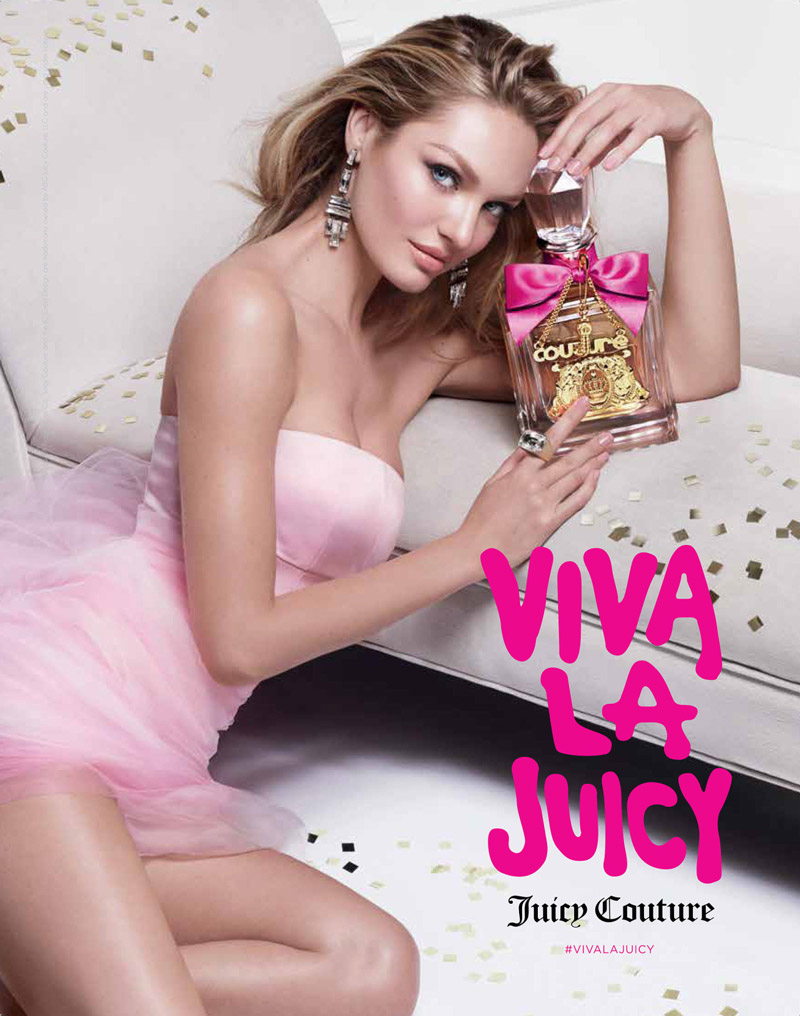 Candice Swanepoel stars for the Juicy Couture Viva La Juicy Campaign