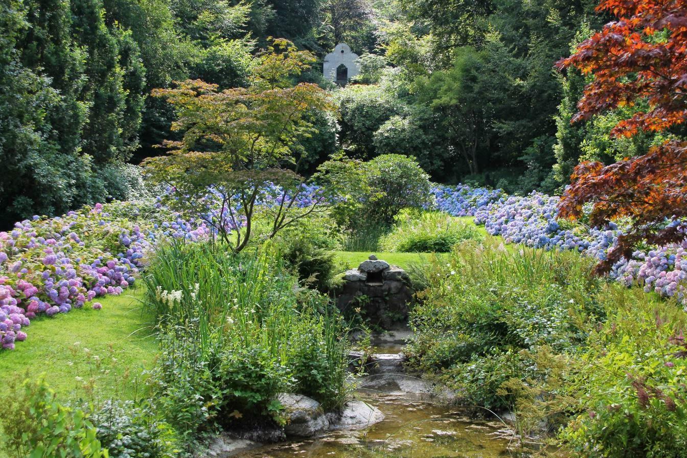 Godastunder & tokiga ideèr: trädgårds besök....