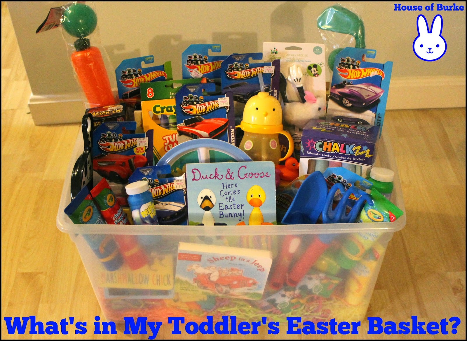 Whats In My Toddlers Easter Basket