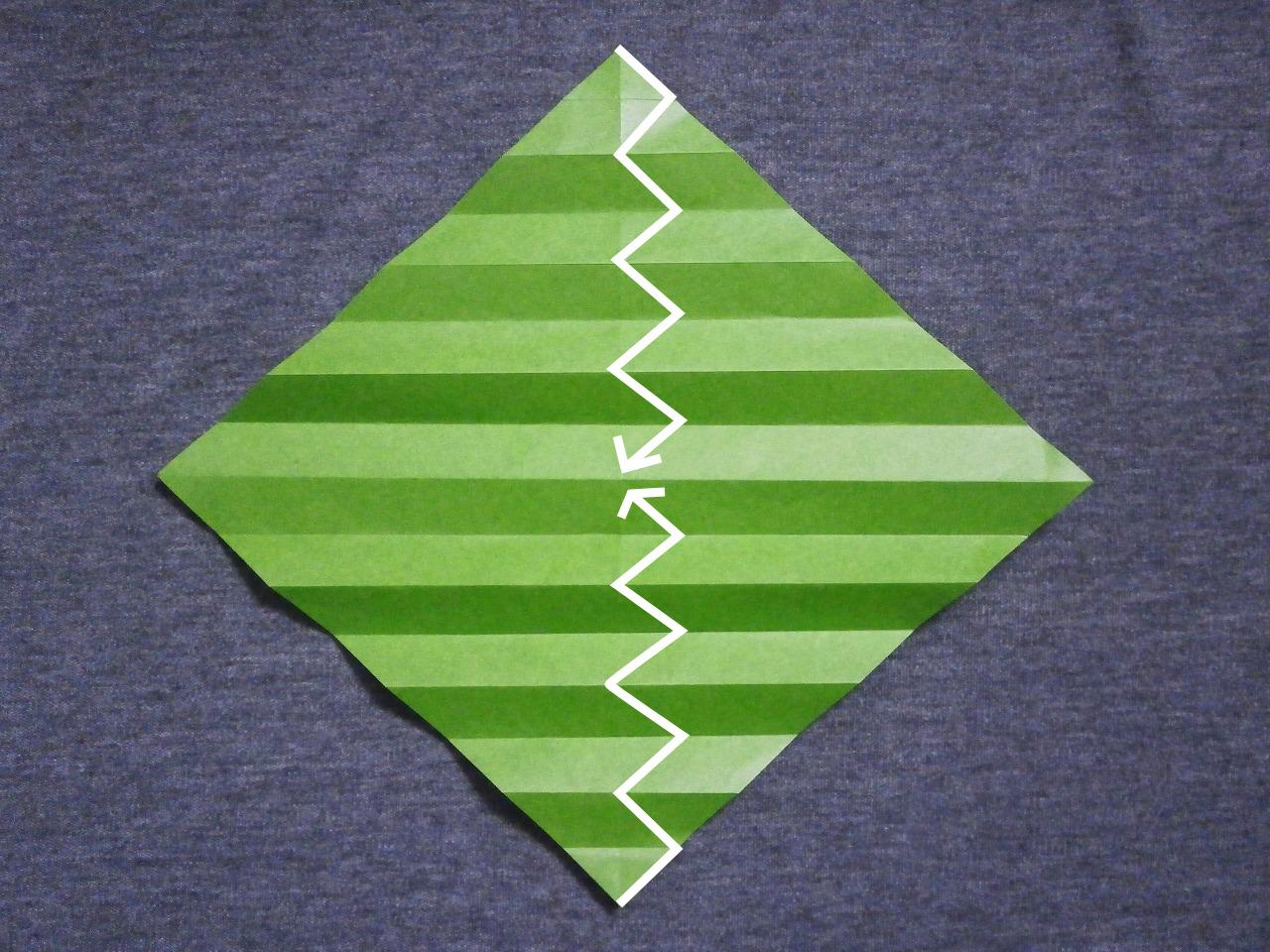 KATAKOTO ORIGAMI: How to fold an origami snake - photo#12