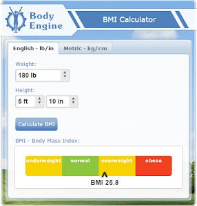 Testing BMI Calculator