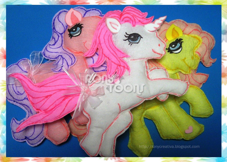 Como hacer un pony de foami - Imagui