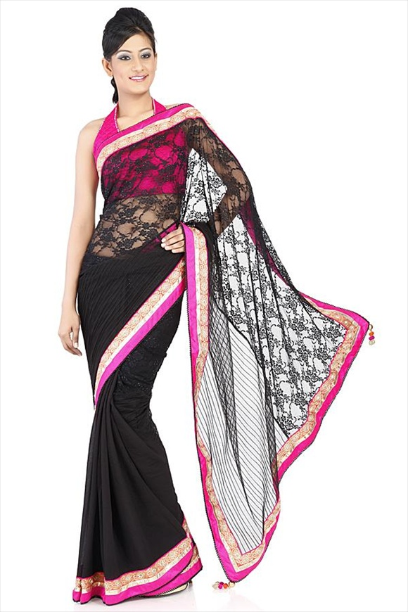Net Saree
