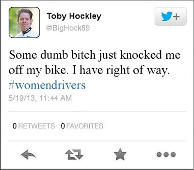 Toby Hockley Tweet