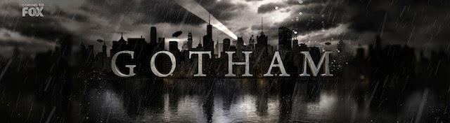 "Logo oficial de la serie ""Gotham"""