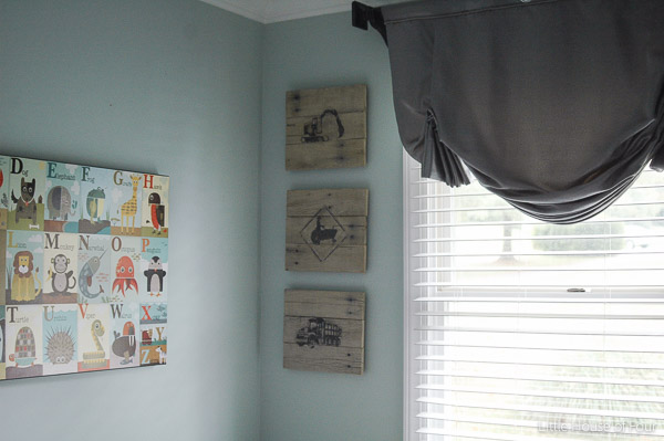 Diy Pallet Photo Transfer Art Little House Of Four