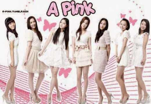 A-Pink members