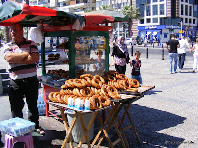 Simit Or Gevrek In Izmir, Turkey