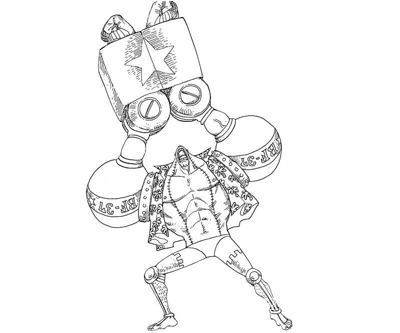 One Piece Franky Power Temtodasas