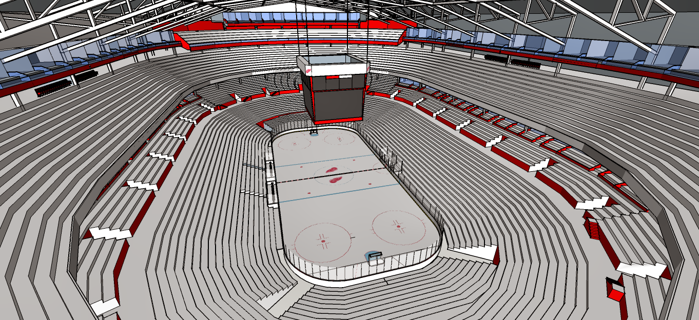 New Detroit Red Wings Arena 4
