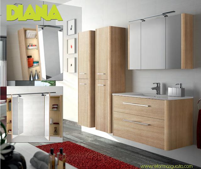 Muebles de ba o de un metro for Espejo de 1 metro por 2 metros