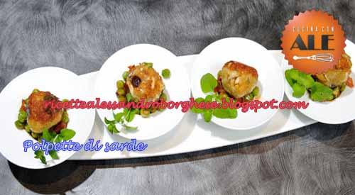 Polpette Di Sarde Ricetta Di Alessandro Borghese Da Cucina Con Ale