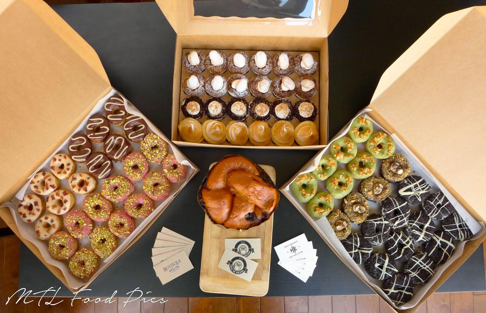 Pastry Montreal - Rustique, Hof Kelsten, Trou de Beigne