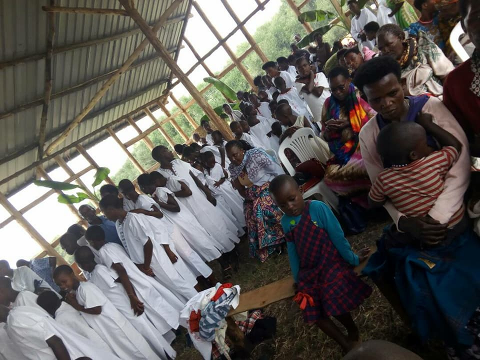 Βάπτιση 185 πιστών στη νέα ενορία μας στο Ρουμπάρρε.