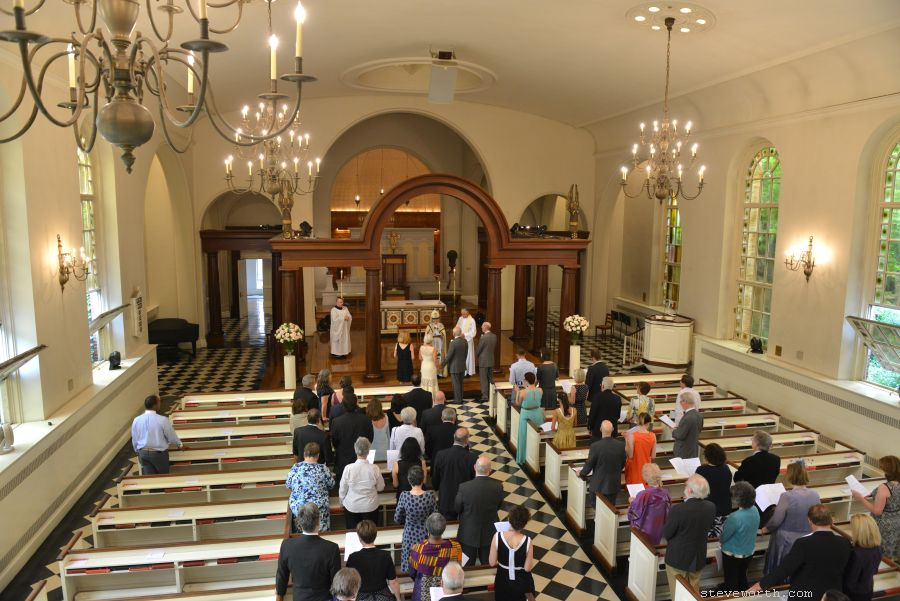 St. Luke - 487 Hudson Street - Ceremony from Above