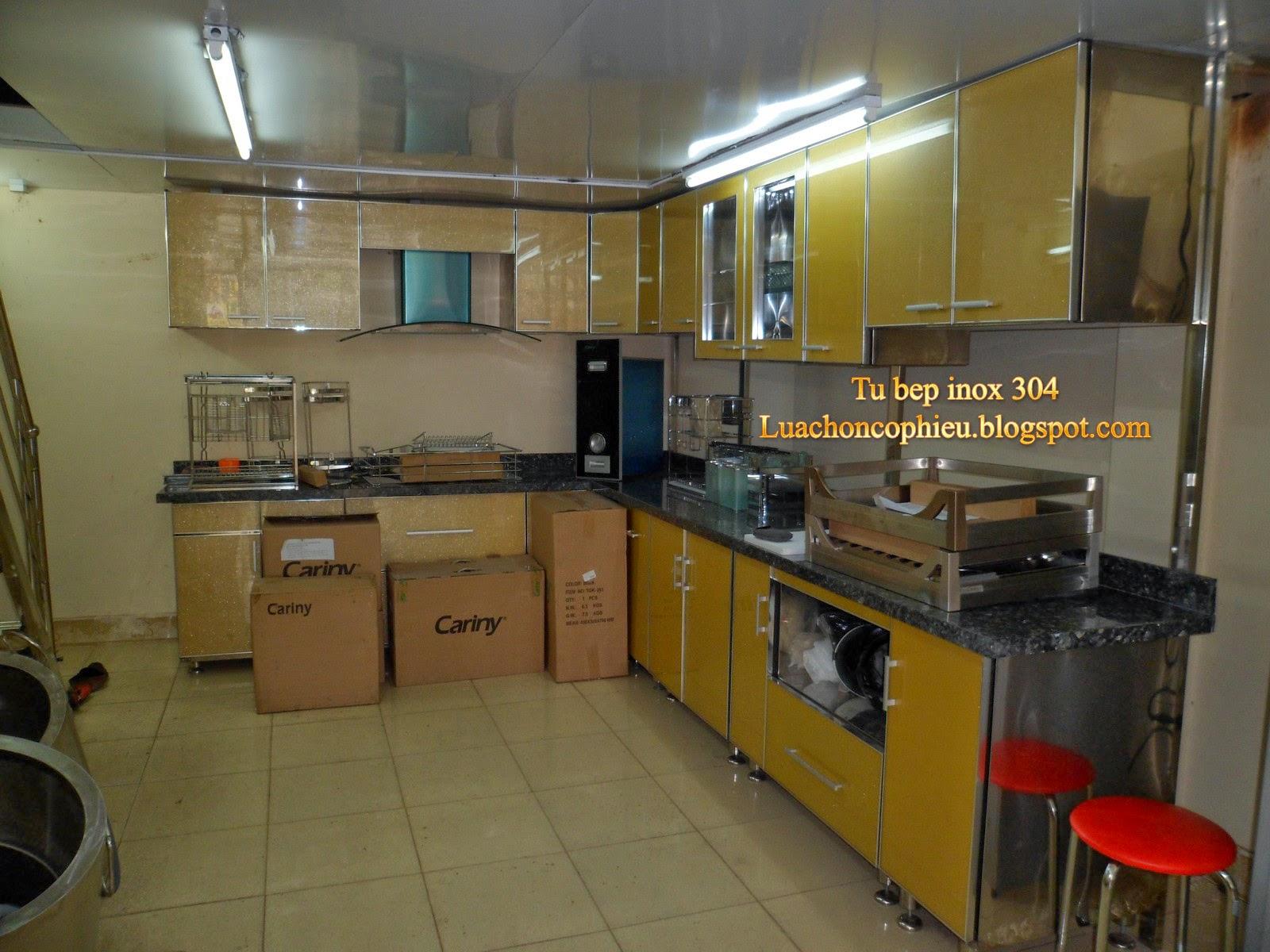 Tủ Bếp Inox 304, siêu bền, 30 năm không hỏng