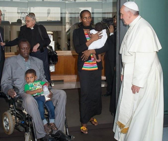 meriam ibrahim pope francis