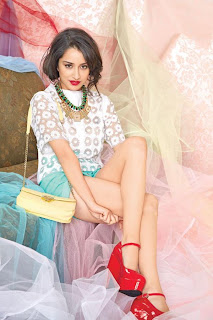Shraddha Kapoor Beautiful Pictureshoot for Cosmopolitan Magazine July 2013