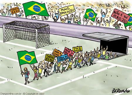BRASILEIRO ENTRA EM CAMPO