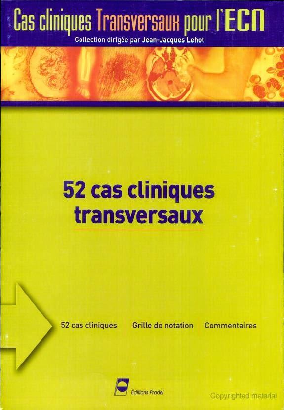 Divers - Cas Cliniques transversaux pour l'ECN - Editions PRADEL
