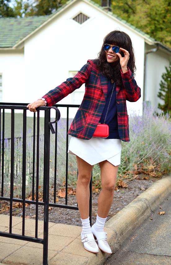 Zara Skort Outfit