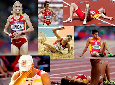 El atletismo cosechó unos pésimos resultados olímpicos en Londres
