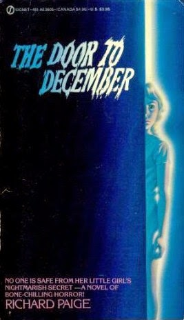 Vintage paperback cover for Door to December cover