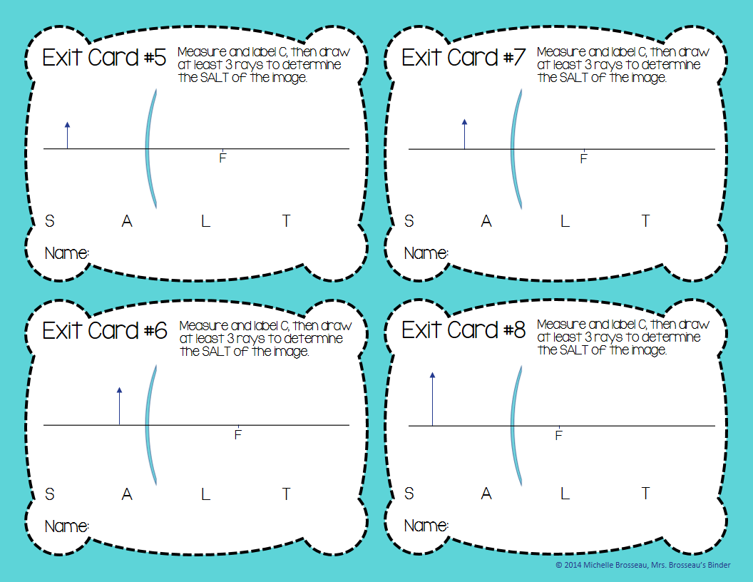 http://www.teacherspayteachers.com/Product/OPTICS-Exit-Cards-for-Curved-Mirrors-Ray-Drawing-Diagrams-FREE-1374142