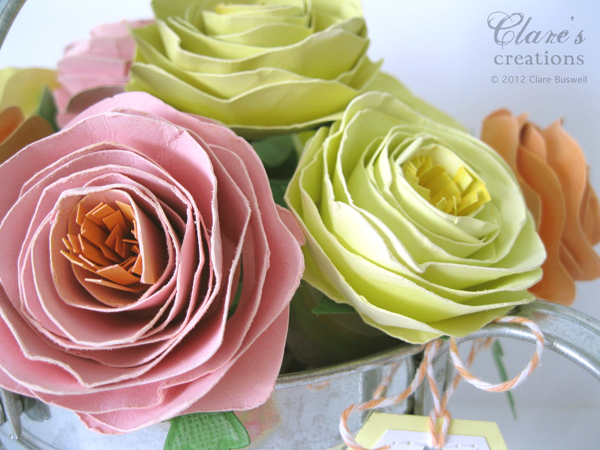 Shabby rolled spiral flower tutorial lots of photos - Comment faire une rose en papier facile ...