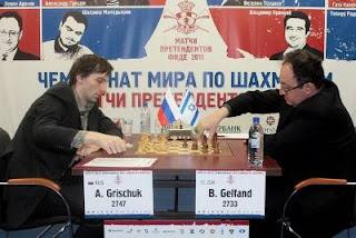 Echecs à Kazan : Grischuk face à Gelfand