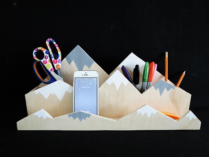 Mountain Desk Organizer - Ohoh Blog