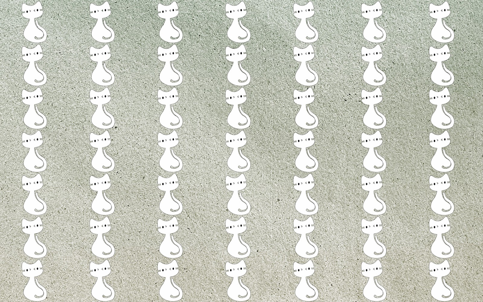 Sitting white cat tumblr background