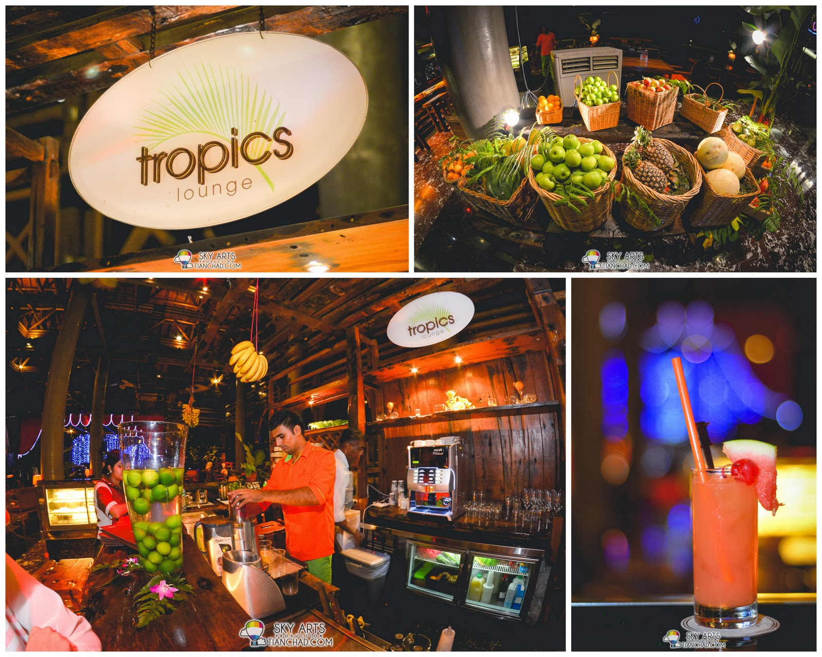 Tropic Lounges - A corner that serve you fresh fruit juice