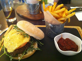 Stitch and Bear - Burger at the Wild Boar pub in Stepaside