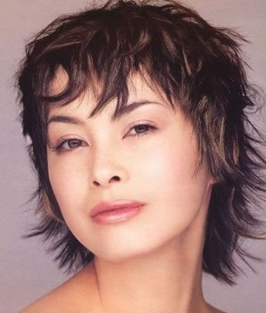medium bob hairstyle in thick hair. Short Punk Hairstyles For Girls