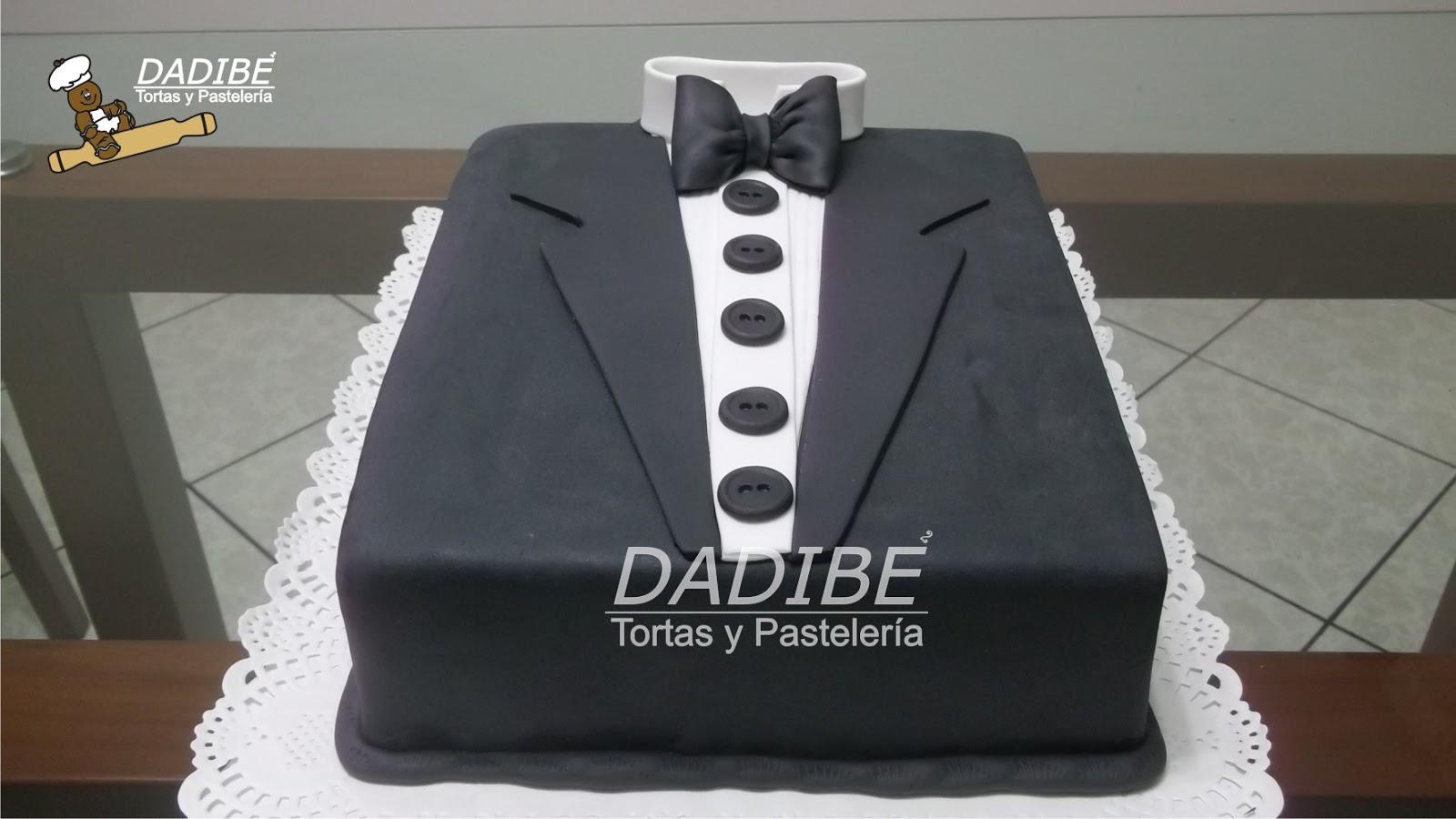 torta modelo smoking tortasdadibe @ gmail com 624 7168 9929 11 330