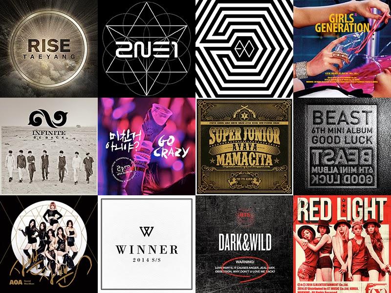 top 10 kpop albums of 2014
