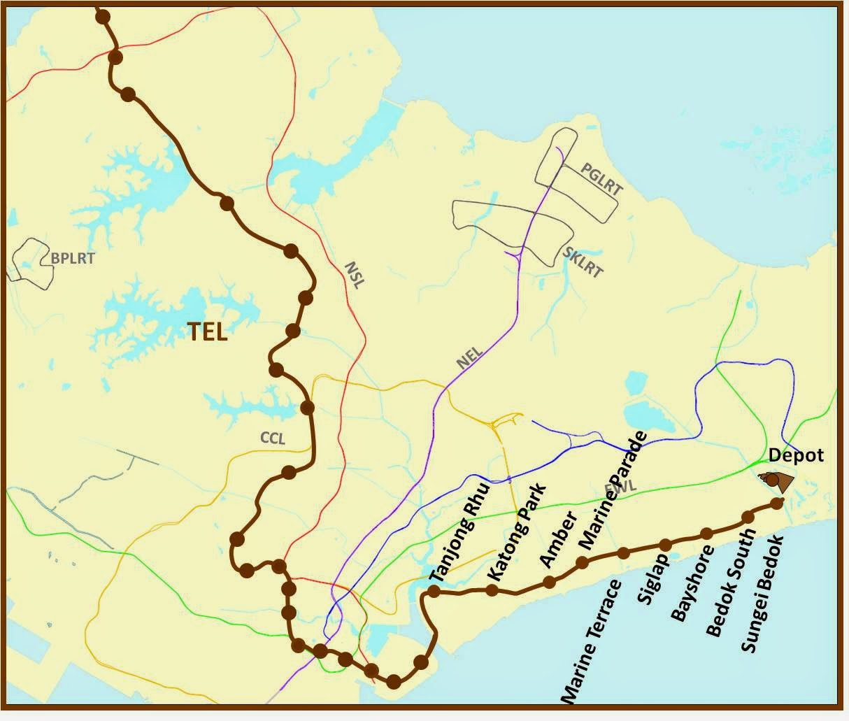 ... years late and merged with Thomson Line to be Thomson-East Coast Line