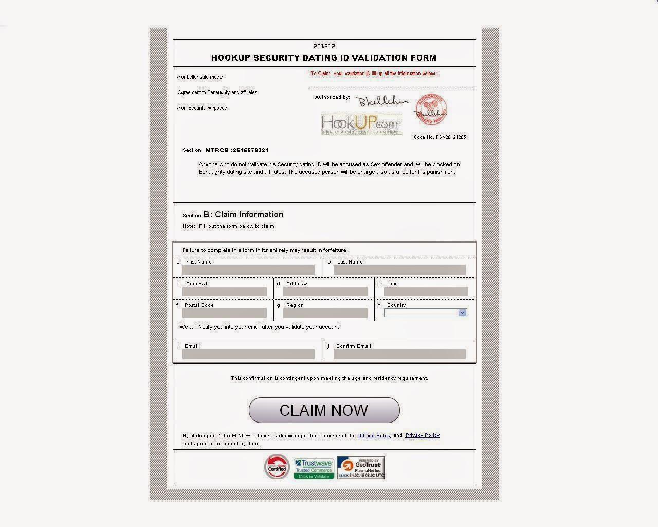 Hookup identification